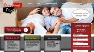 Operativní půjčka - Starší neresponsivní verze